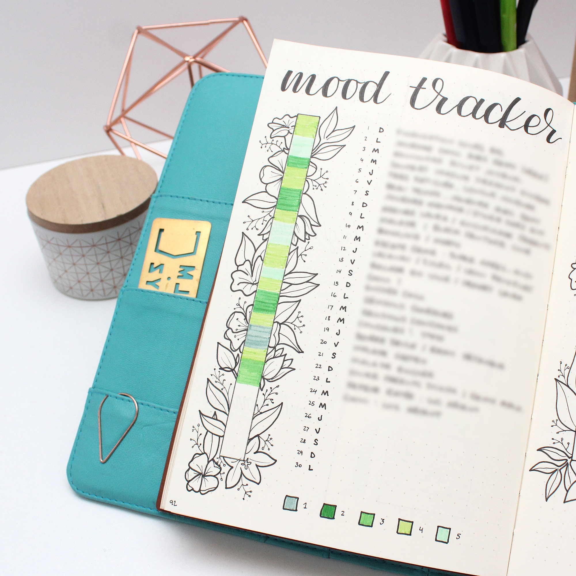 habit tracker a great tool to achieve goals and set up a daily